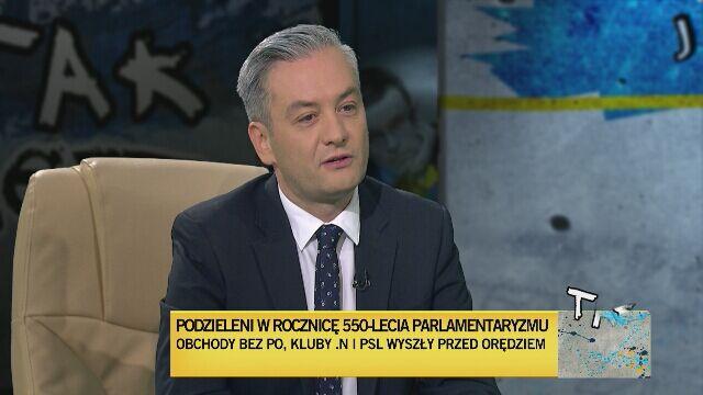 Robert Biedroń w Tak Jest