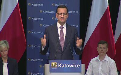 Morawiecki: chcemy dbać o to, żeby państwo polskie decydowało o tym, kogo chcemy przyjmować, kogo nie chcemy