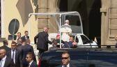 Ojciec Święty wrócił na Franciszkańską
