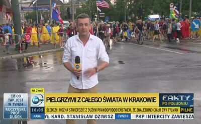 Pielgrzymi ruszyli na krakowskie Błonia