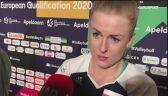 Joanna Wołosz o meczu z Holenderkami