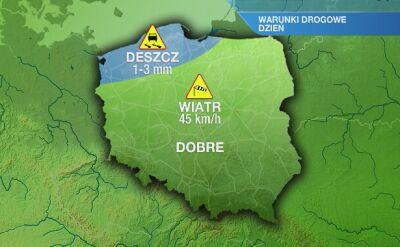 Warunki drogowe w niedzielę 12.01