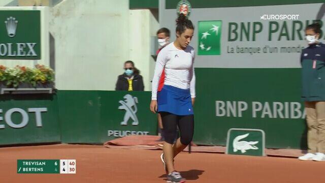 Trevisan pokonała Bertens i zagra z Igą Świątek w ćwierćfinale French Open
