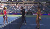 Skrót meczu Raducanu - Bencic w ćwierćfinale US Open