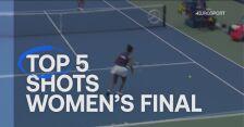 TOP 5 najlepszych zagrań z finału kobiet w US Open