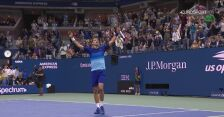 Skrót meczu Djoković - Zverev w półfinale US Open