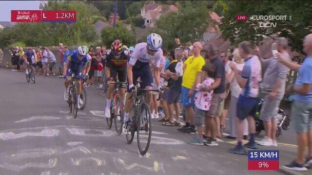 Ostatni kilometr 4. etapu Tour of Britain