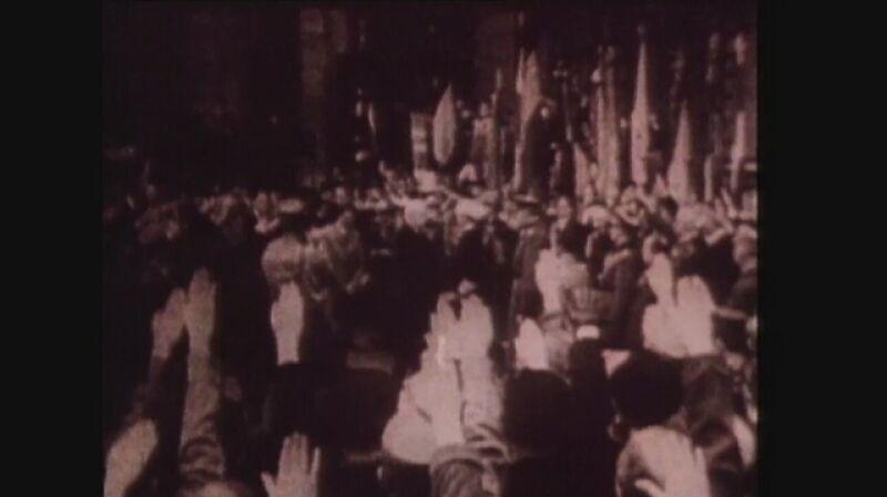 Adolf Hitler został kanclerzem w 1933 r.