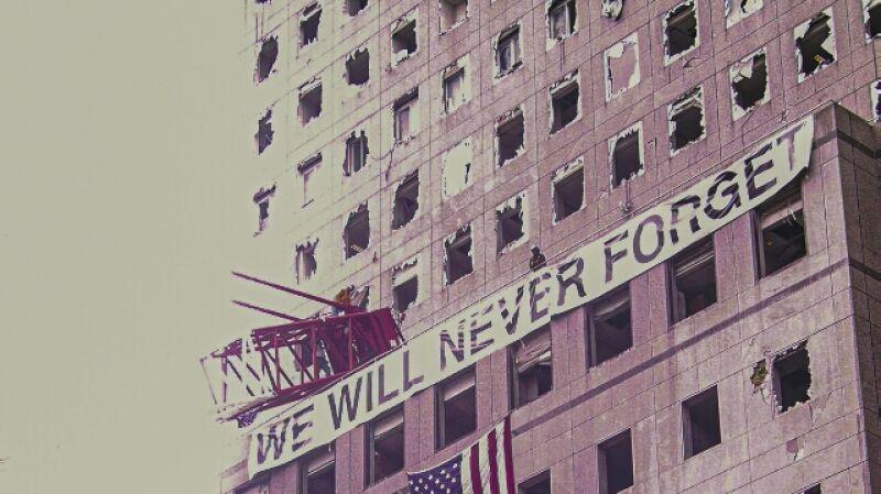Tak wyglądał Manhattan po atakach na WTC