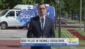 Premier Morawiecki o 500 plus w nowej odsłonie