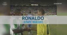 Tak grał Ronaldo na igrzyskach w Atlancie