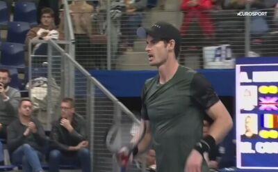 Murray awansował do półfinału turnieju ATP w Antwerpii