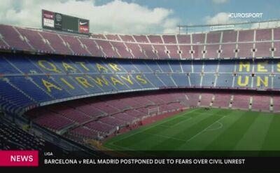 Barcelona i Real Madryt chcą rozegrać El Clasico 18 grudnia