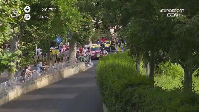 Finisz 11. etapu Tour de France