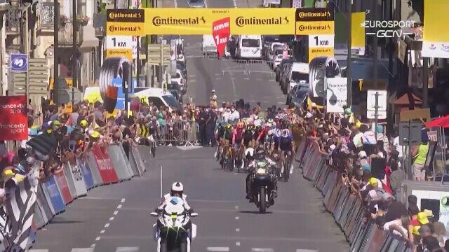 Ostatni kilometr 13. etapu Tour de France