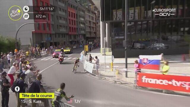 Sepp Kuss wygrał 15. etap Tour de France