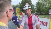 Adrian Kurek po 3. etapie Tour de Pologne