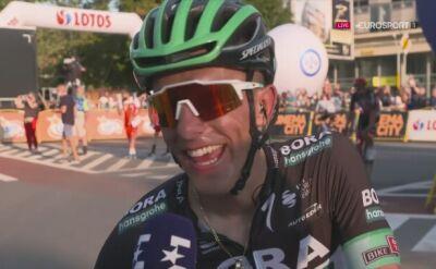Rafał Majka po ostatnim etapie Tour de Pologne