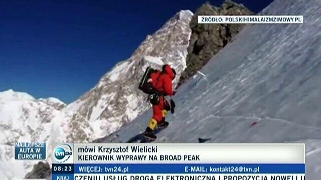 Krzysztof Wielicki, kierownik wyprawy: pogoda sprzyja
