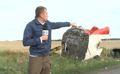 """""""Cała droga usłana workami"""". Reporter TVN24 na miejscu katastrofy"""
