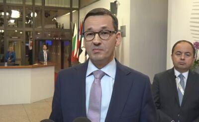 Premier: otrzymaliśmy zawiadomienie ze strony Trybunału Sprawiedliwości