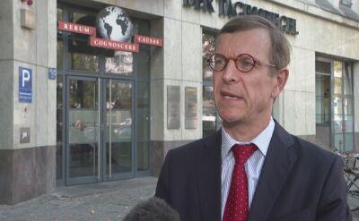 Christoph von Marschall: na pytanie Ziobry jest już za późno
