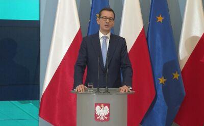 Morawiecki: Polska pełni konstruktywną rolę
