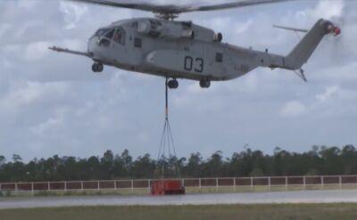CH-54K unoszący rekordowe 18 ton