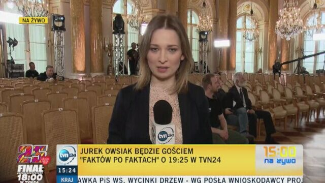 Transmisja z konferencji prasowej WOŚP o godz. 18 w TVN24