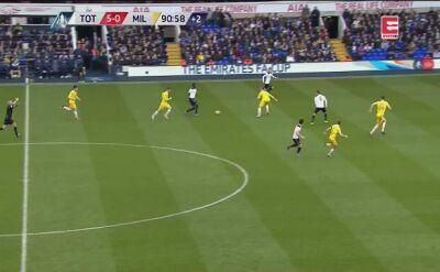Błąd bramkarza w meczu Tottenhamu z Milwall