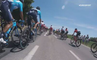 Niebezpieczna kraksa na 4. etapie Tour de France