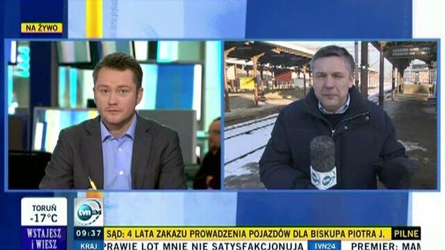 Sytuacja na dworcu w Gdańsku po zakończeniu strajku