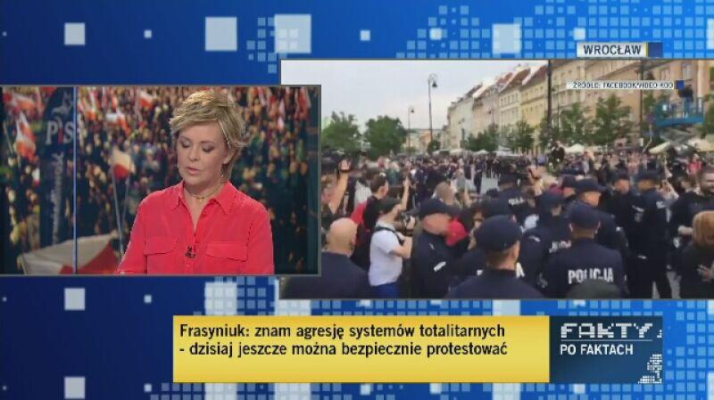 Władysław Frasyniuk wspomina rozmowę z Lechem Kaczyńskim przy przypinaniu orderu