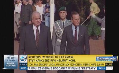 """""""To był pomnik niemieckiej polityki. Odegrał ogromną rolę w zjednoczeniu Europy"""""""