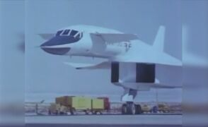 Kołowanie i start XB-70A