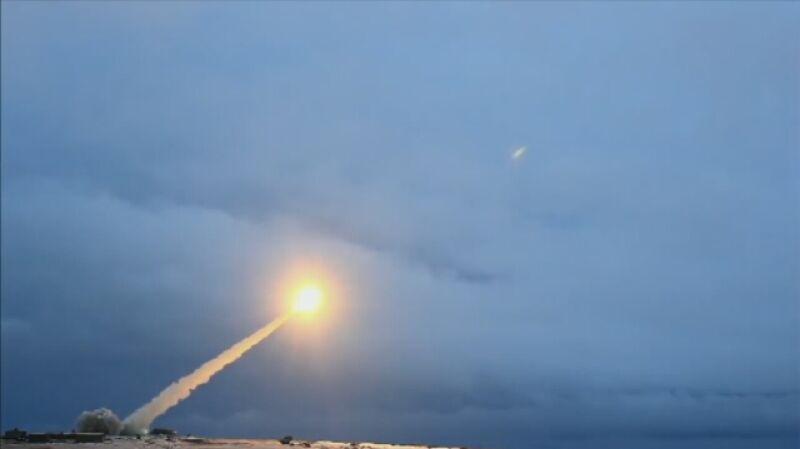 Pokaz nowej rosyjskiej rakiety z napędem jądrowym