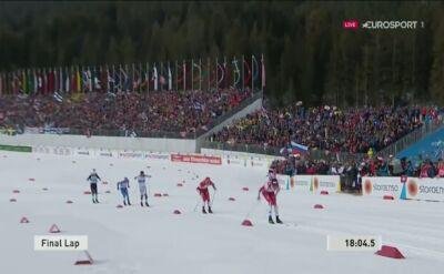 Norwegowie mistrzami świata w sprincie drużynowym