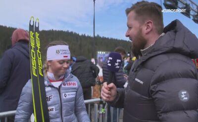 Monika Skinder po sprincie drużynowym w mistrzostwach świata