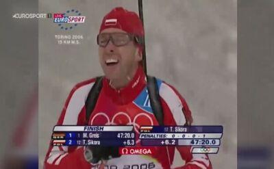 Tomasz Sikora o medalowym biegu olimpijskim