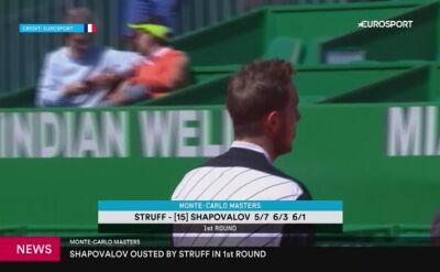 Niespodziewana porażka Shapovalova
