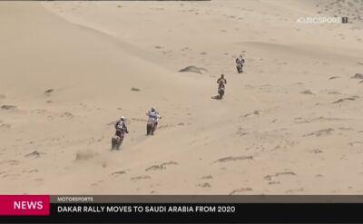 W 2020 roku Rajd Dakar odbędzie się w Arabii Saudyjskiej