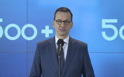 Premier Morawiecki: za około tydzień chcemy zorganizować pierwszą sesje okrągłego stołu