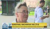 Mieszkańcy Krakowa wspominają kardynała Macharskiego