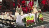 Msza podczas niedzielnych obchodów na pl. Krasińskich