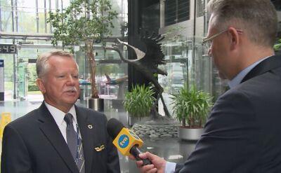 """Papieski pilot w rozmowie z """"Faktami"""" TVN"""