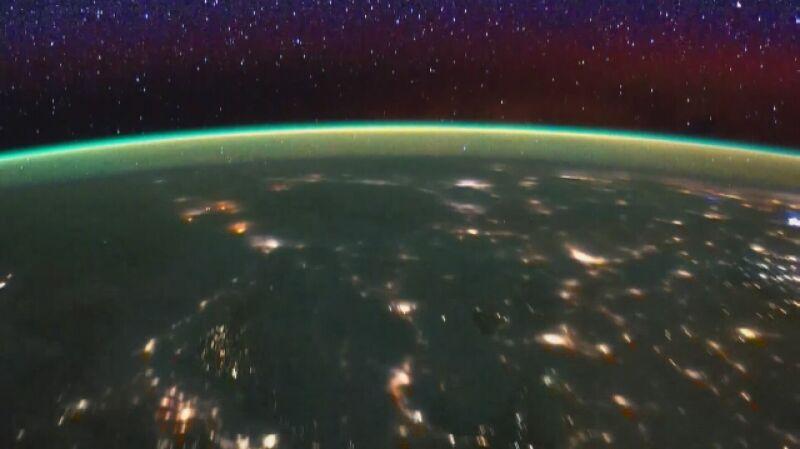Ziemia z perspektywy Międzynarodowej Stacji Kosmicznej