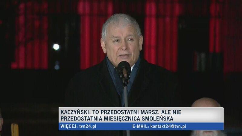 Kaczyński: ustalenia komisji Anodiny i Millera to nie jest prawda