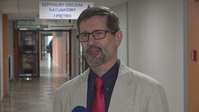 Rzecznik szpitala o stanie jednego z poszkodowanych mężczyzn
