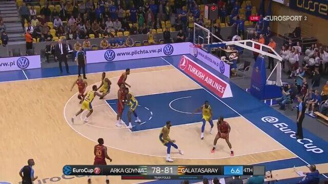 Arka Gdynia przegrała z Galatasaray Stambuł w 5. kolejce Pucharu Europy