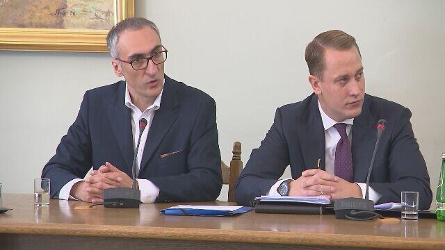 Emil Marat zeznaje przed komisją śledczą do spraw Amber Gold